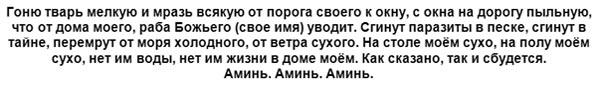 zagovor-ot-tarakanov-tekst