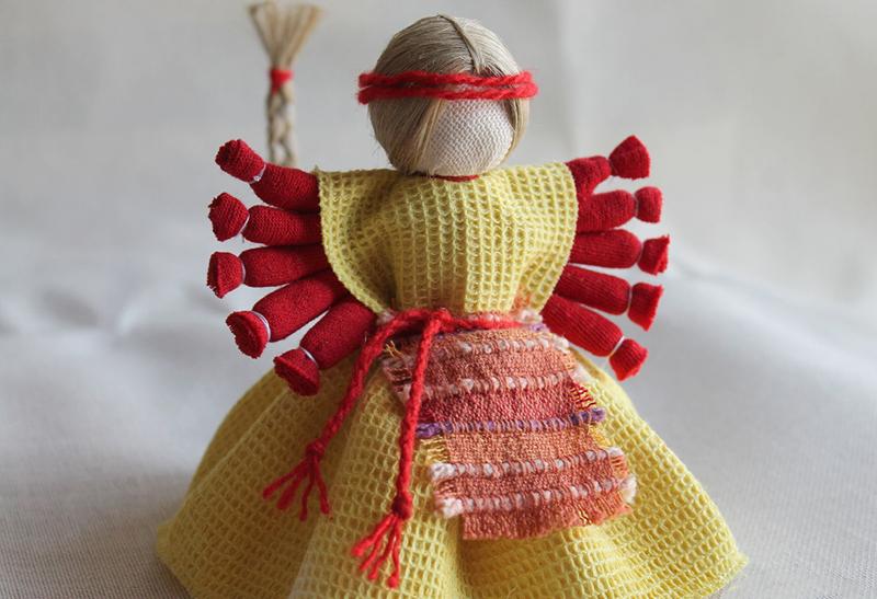 Кукла-оберег Десятиручка
