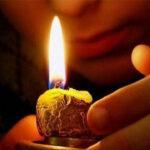 6 этапов заговора на зеленую свечу на деньги